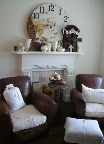 cozy sitting corner...