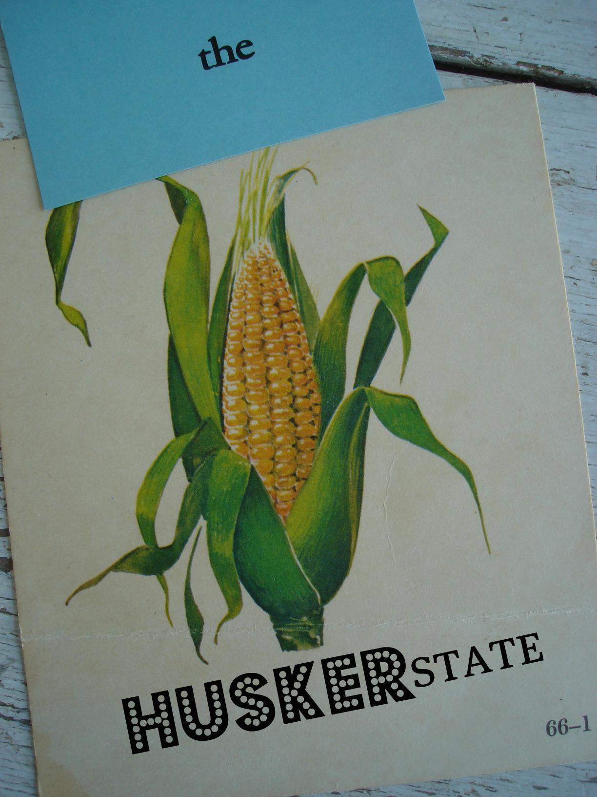 the cornhusker state