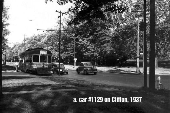 TROLLEY Clifton, 1937