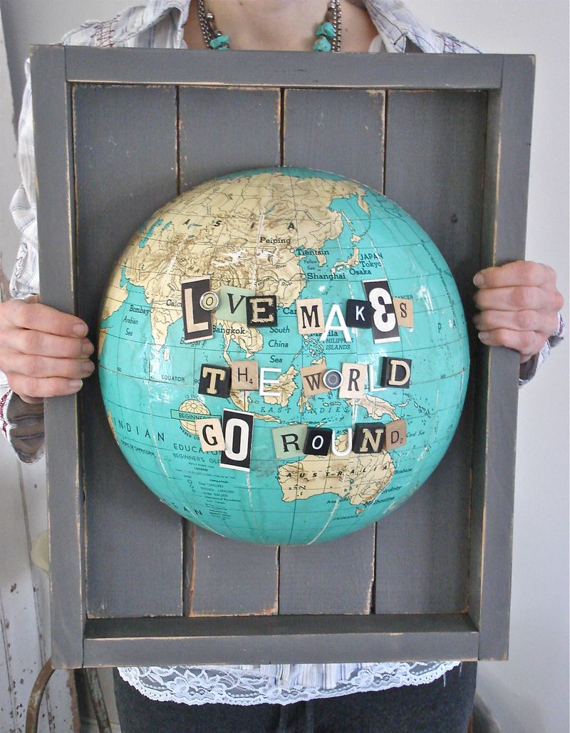 i've got the whole {1/2} world in my hands!