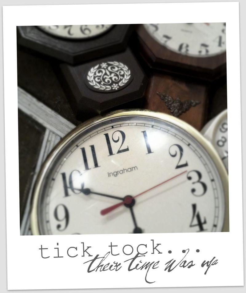 tick tock tick tock