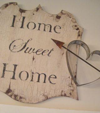 home sweet...