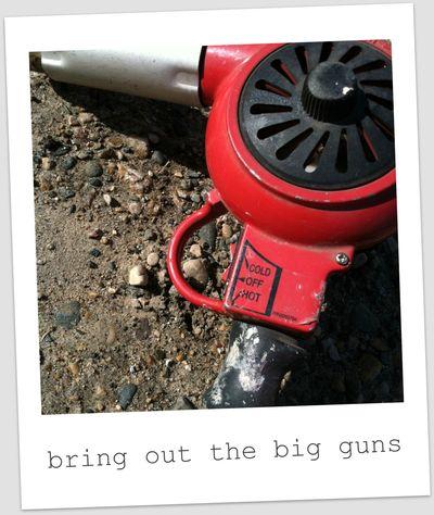 Big guns!