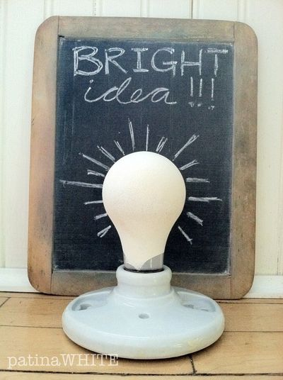 me and my bright ideas!
