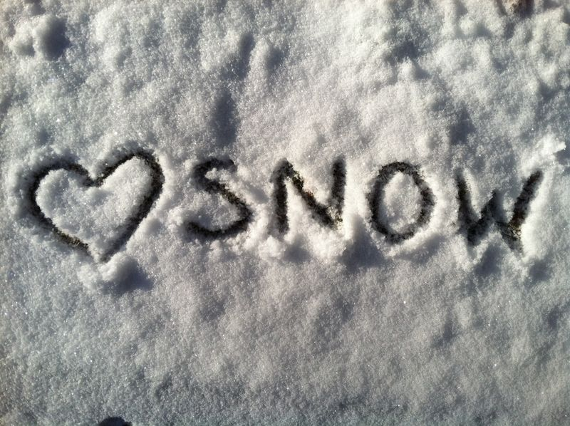 {4} the love of snow