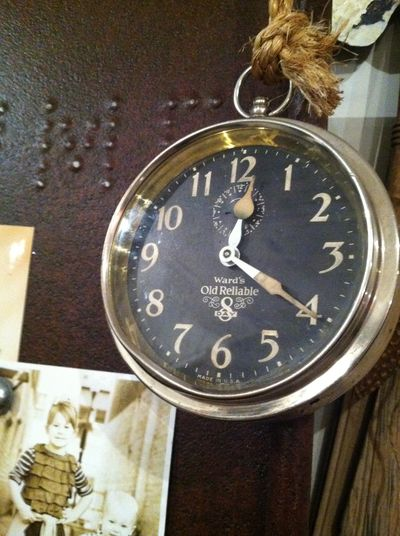 clock on a ROPE