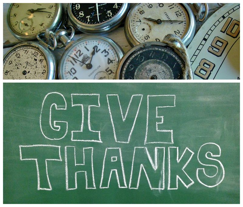 Time of thanks