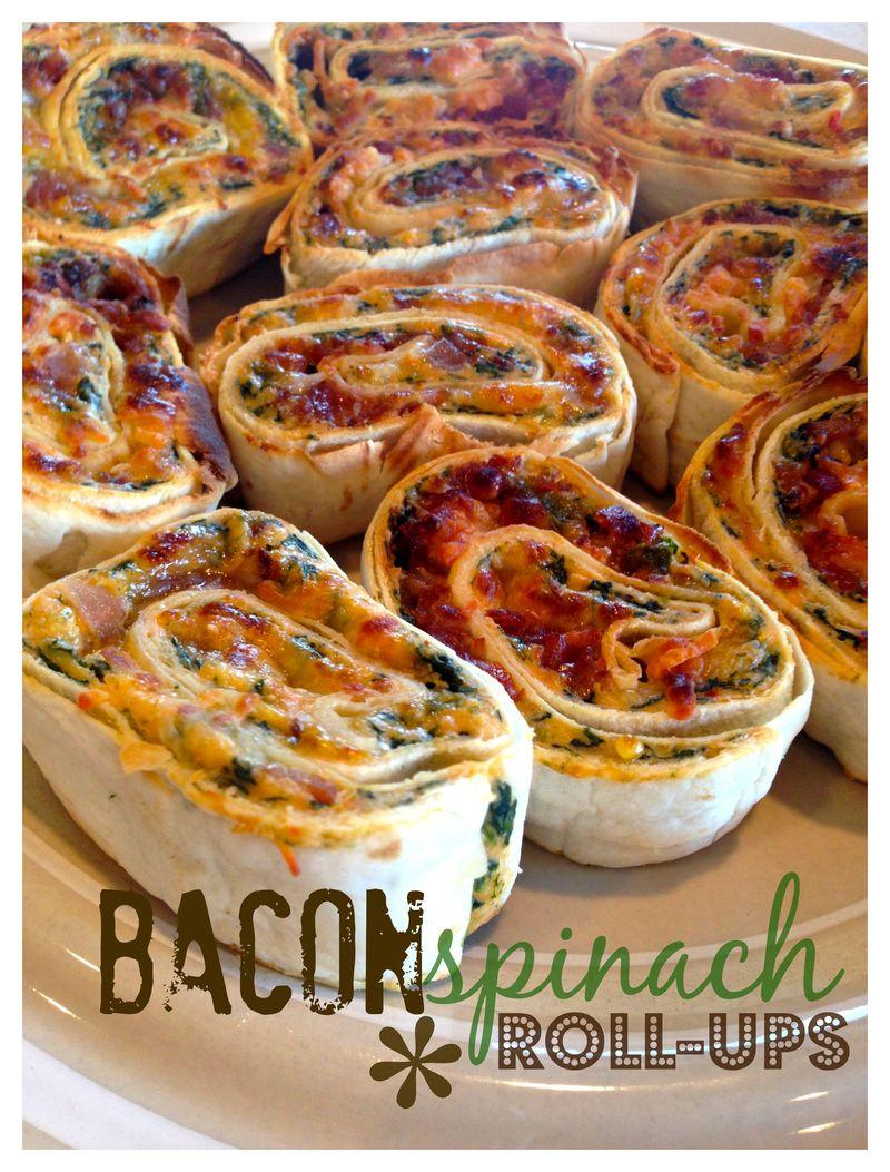 Bacon spinach